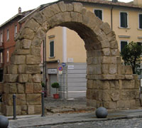 Porta Montanara a Rimini